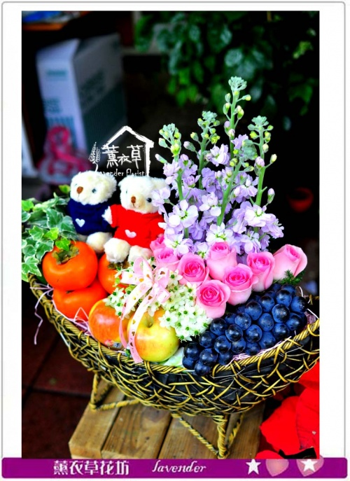 水果禮盆c121003
