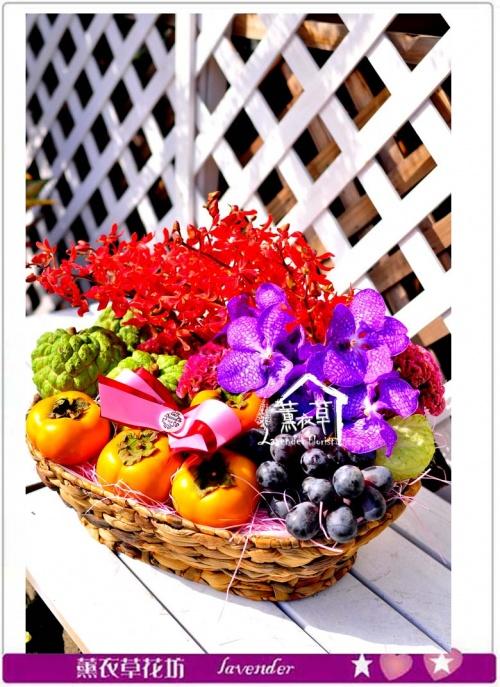 水果禮盆c101608