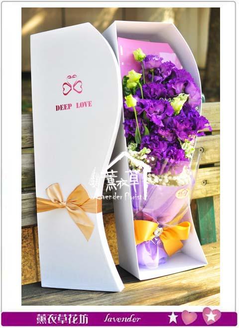 桔梗歐式花盒b121308