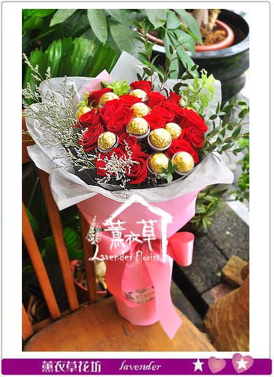 玫瑰花束 106041601