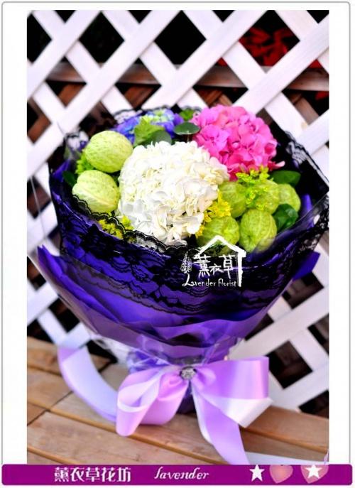繡球花束c093042