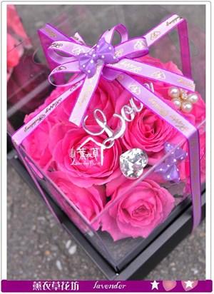 歐式玫瑰花盒~<BR>限量全省免運c050232