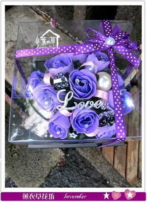 香氛玫瑰花盒~免運特賣中c052539