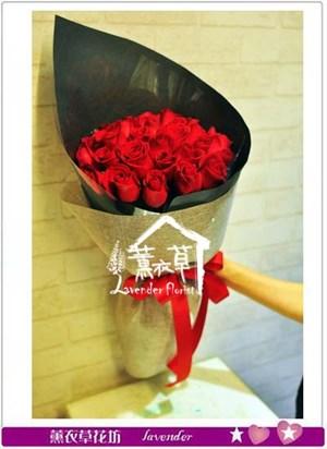 玫瑰花束33朵