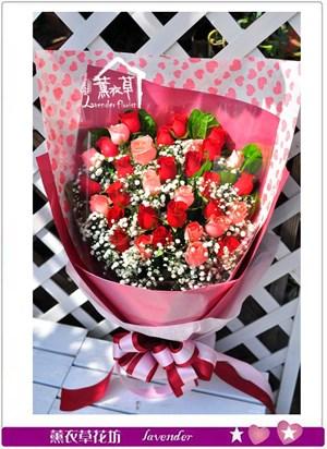 玫瑰花束c102415