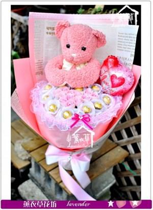 粉紅熊熊~超柔軟款c091213