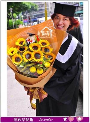 畢業花束c052803