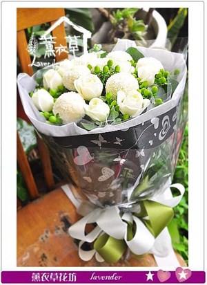 白玫瑰花束 106090824