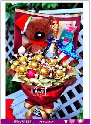 聖誕花束~限定款c121607