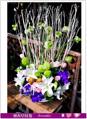 高貴盆花設計c090402