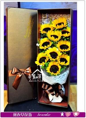 向日葵歐式花盒設計a020307