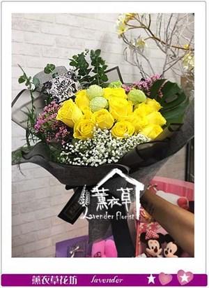 荷蘭進口黃色玫瑰106083016