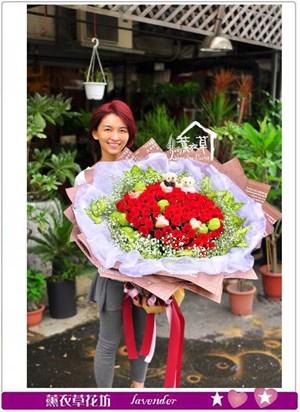 豪華求婚花束c072543