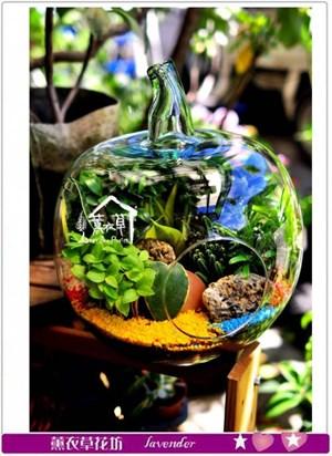 玻璃花器設計~蘋果造型c082906