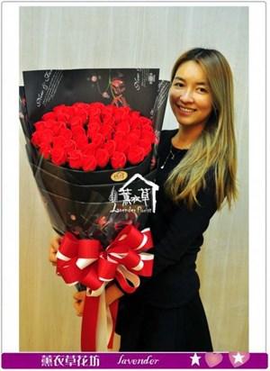 香氛玫瑰50朵b040109