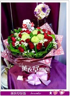 玫瑰20朵!免運y33423