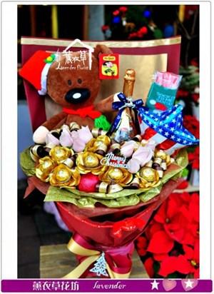 聖誕花束c121705