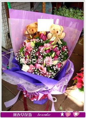 鬱金香花束G1080