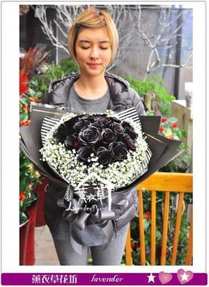 荷蘭空運 黑紅玫瑰~新品特價 106120803