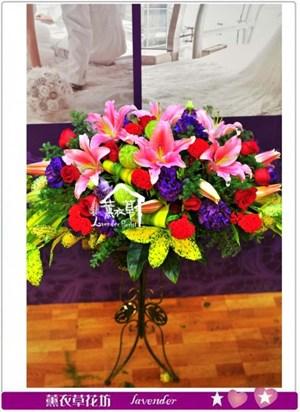 盆設計花c121207