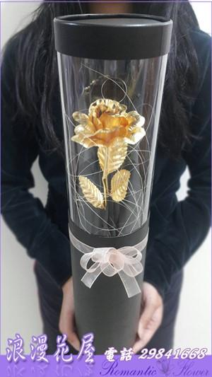 黃金玫瑰花(天長地久)A199