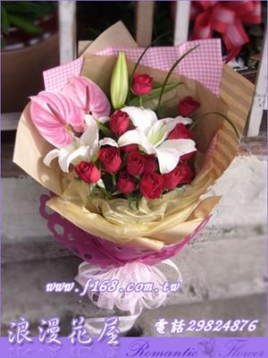 愛戀花束 A118