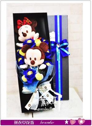 米奇米妮花盒設計~~106021225