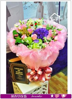 綜合花束設計B100417
