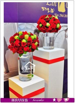 玻璃盆花設計A071923