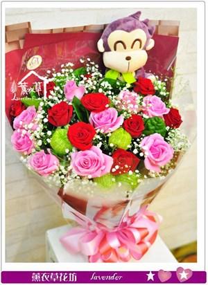 玫瑰花束b042405