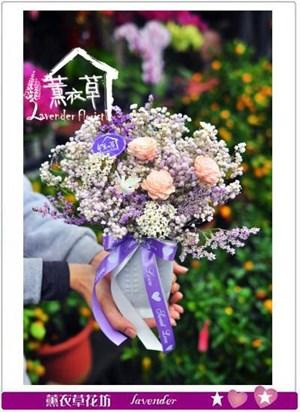 滿天星~乾燥花設計106011503