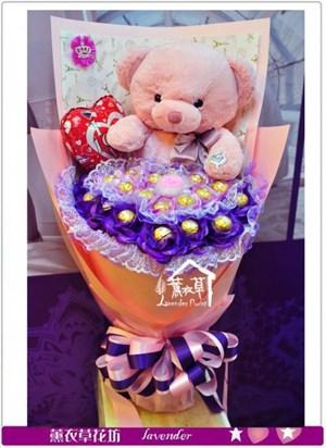熊熊&不凋花a011605