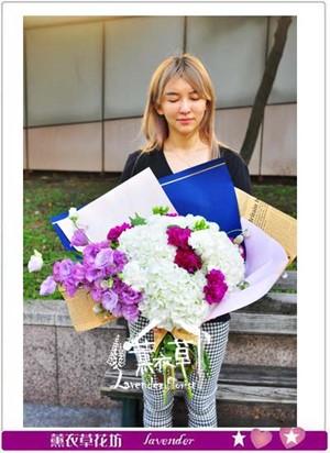 繡球花束設計 106112814