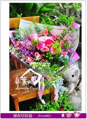 韓式花束設計106072401