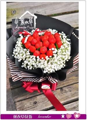 美國草莓花束~AB121201
