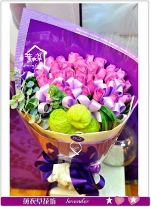 紫水晶33朵A030701