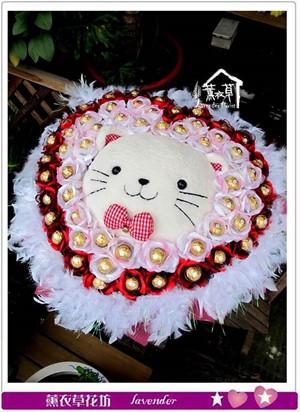貓咪花束c071028