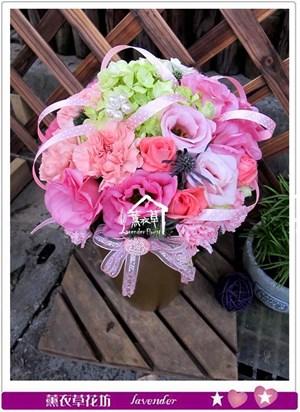 母親節盆花~典雅款c040734