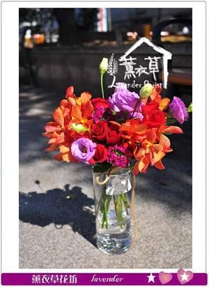 花&玻璃 107011501