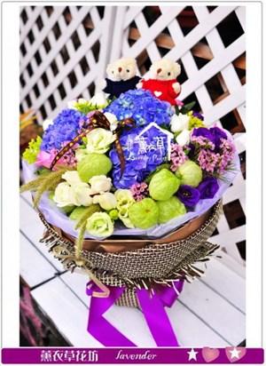 繡球花束C101112