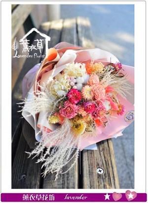 乾燥花花束e010101