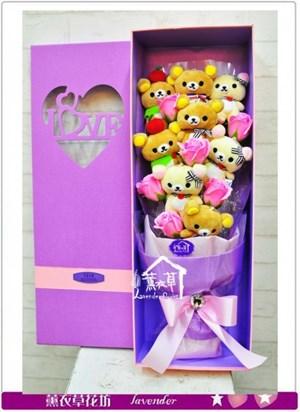 拉拉熊花盒設計b042102