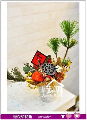 盆花設計~乾燥花系列106010503