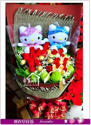 荷蘭進口玫瑰花/凱蒂貓c121012