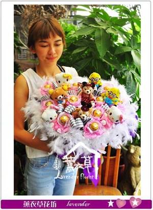 玩偶花束設計106062010