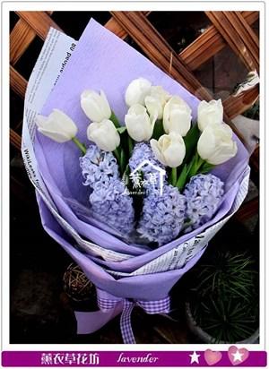鬱金香花束c040737