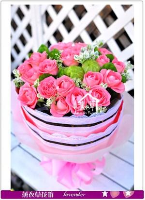 玫瑰花束c102218