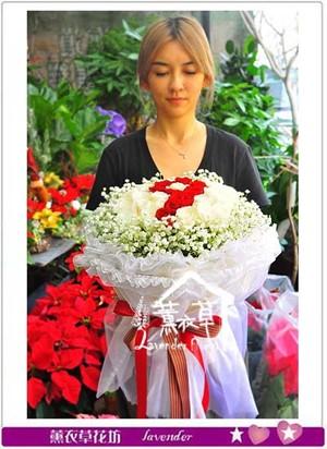 玫瑰花束50朵 106112901