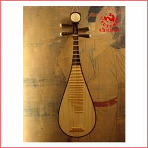 琵琶-滿瑞興紅木琵琶(黑檀相軫)