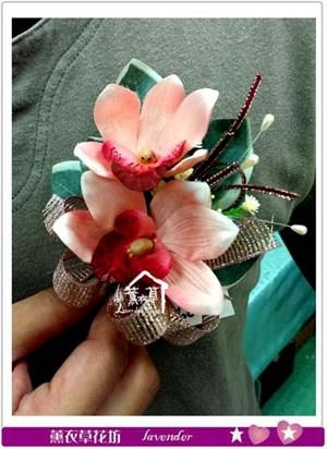 胸花-緞帶款~不接受單朵購買c081113
